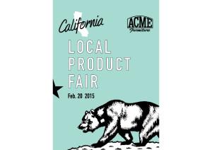 アクメファニチャーでCALIFORNIA LOCAL PRODUCTS FAIR開催