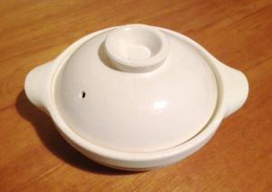 無印良品の軽量土鍋でナベ
