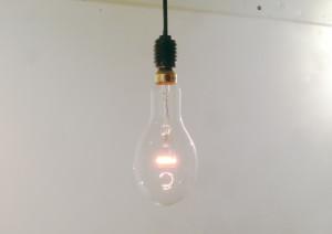 可愛い電球、イカツリランプを買いました。