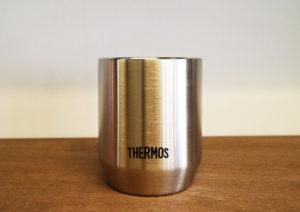 THERMOS(サーモス)の真空断熱カップが湯呑みみたいでちょうど良い